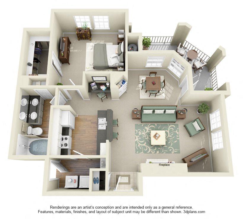 PONCE DE LEON Floor Plan 4