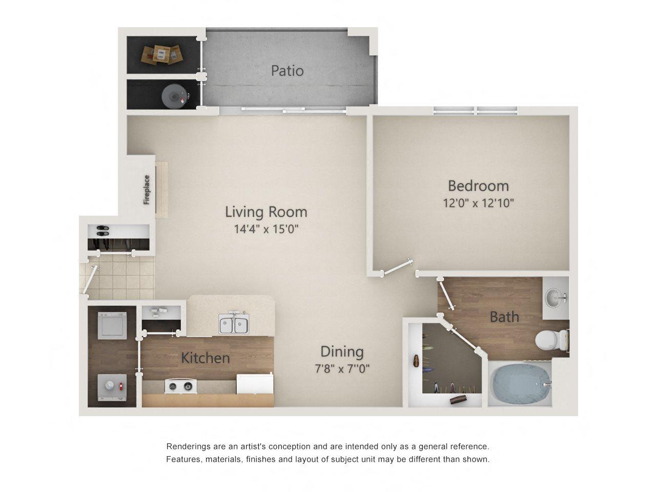 COLUMBUS Floor Plan 2