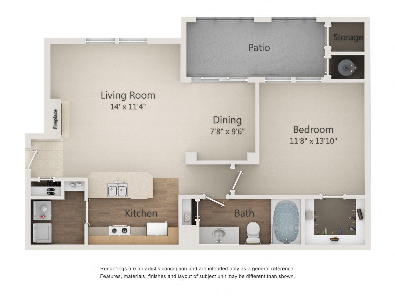 MAGELLAN Floor Plan 1