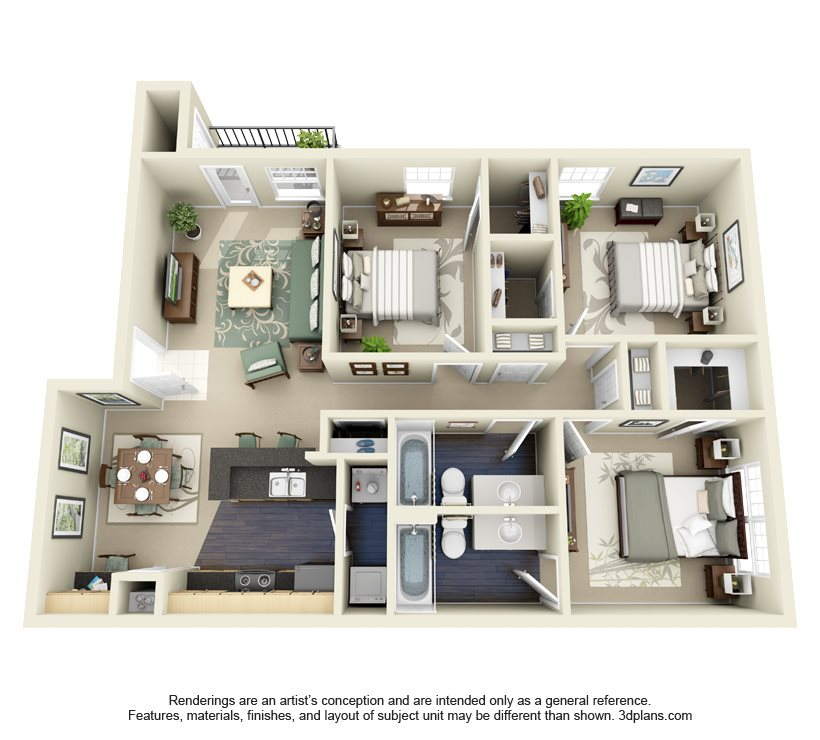 MAHOGANY Floor Plan 5