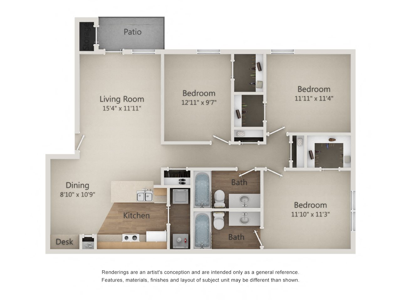 WILLOW Floor Plan 10