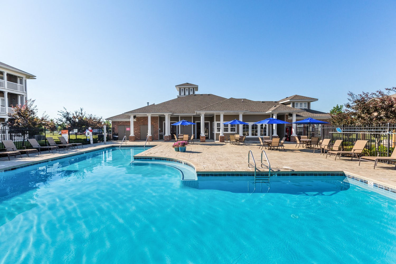 Resort Style Pool at Maple Knoll Apartments, Westfield, IN, 46074