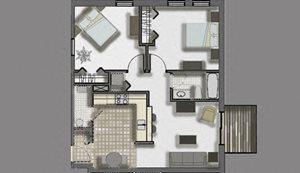 Woodlawn Terrace | 2 Bed, 1 Bath