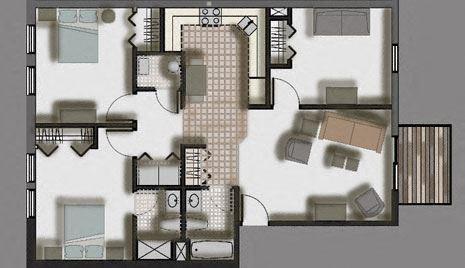Woodlawn Terrace   3 Bed, 2 Bath