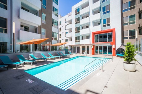 Los Angeles Apartments-Wakaba LA Pool