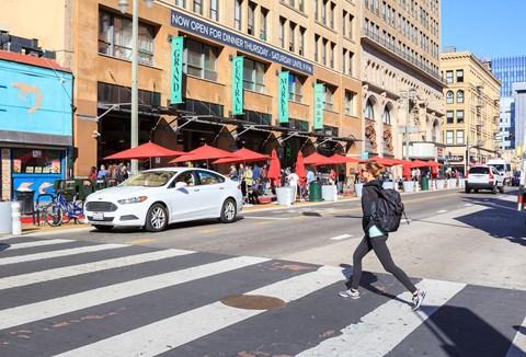 Neighborhood - Crossing Street
