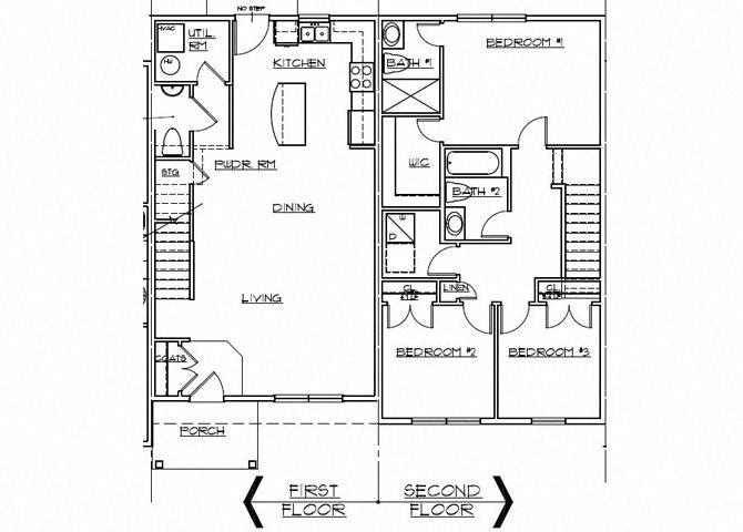Riverwoods at Denton Floor Plan- F