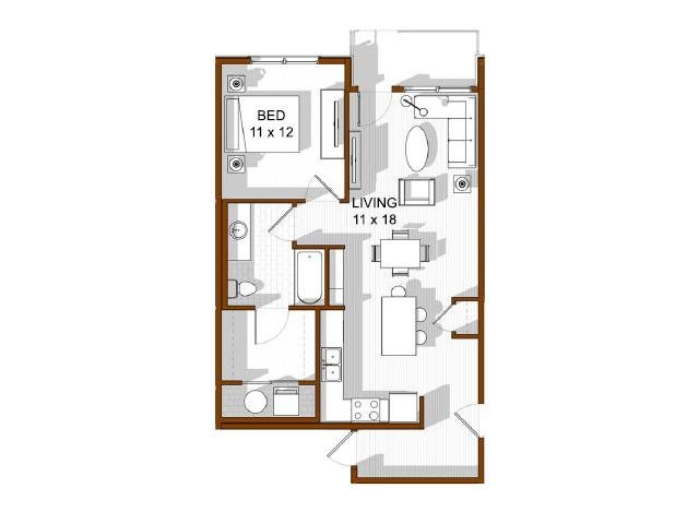 Arapahoe Basin Floor Plan 4