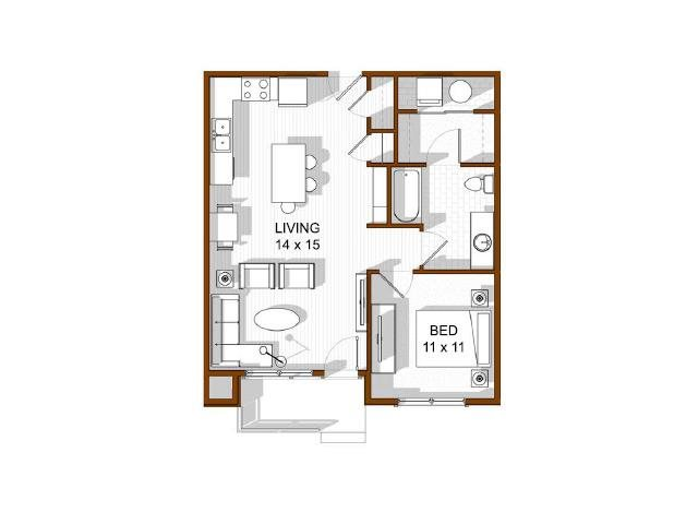 Copper Mountain Floor Plan 3
