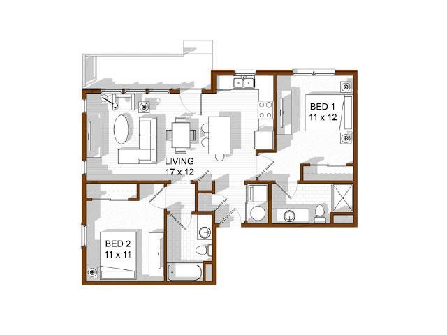 Keystone Floor Plan 12