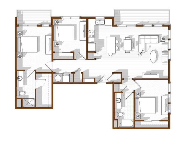 Snowmass Floor Plan 14