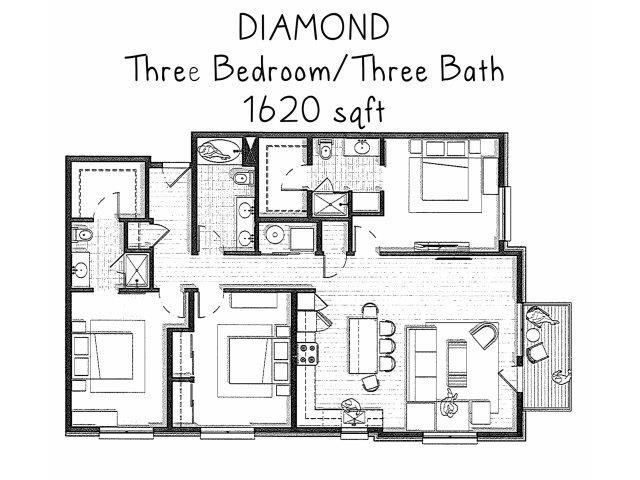 Diamond Floor Plan 5