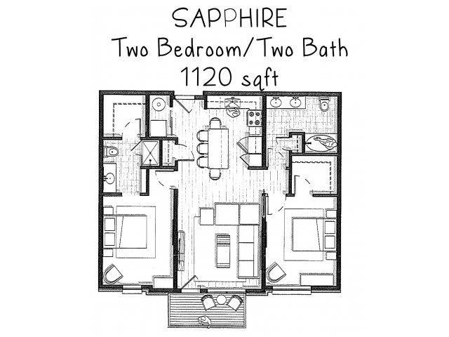 Sapphire Floor Plan 2