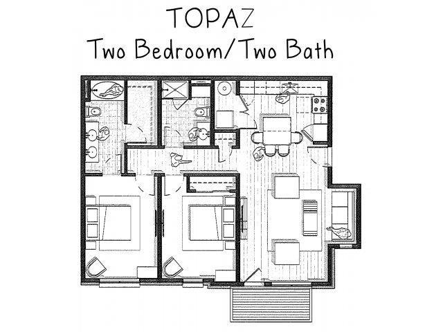 Topaz Floor Plan 3