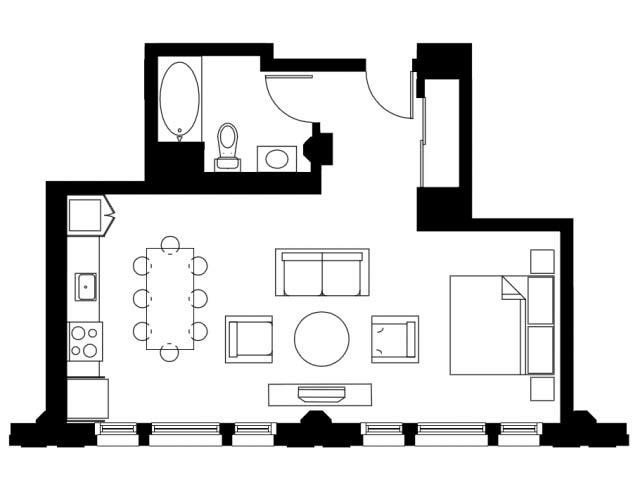 The Estate Floor Plan 2