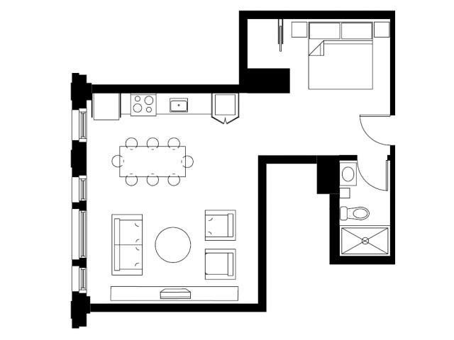 The Holding Floor Plan 1