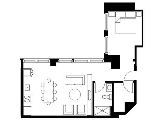 The Margin Floor Plan 4