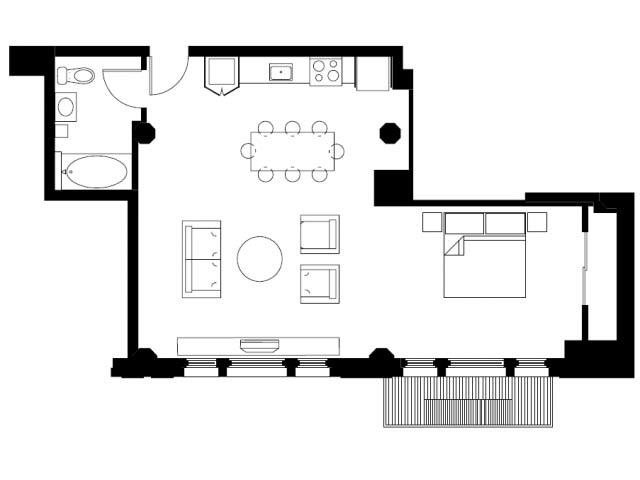 The Proxy Floor Plan 5