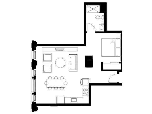 The Ratio Floor Plan 3