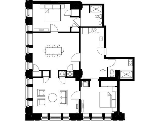 The Trustee Floor Plan 5
