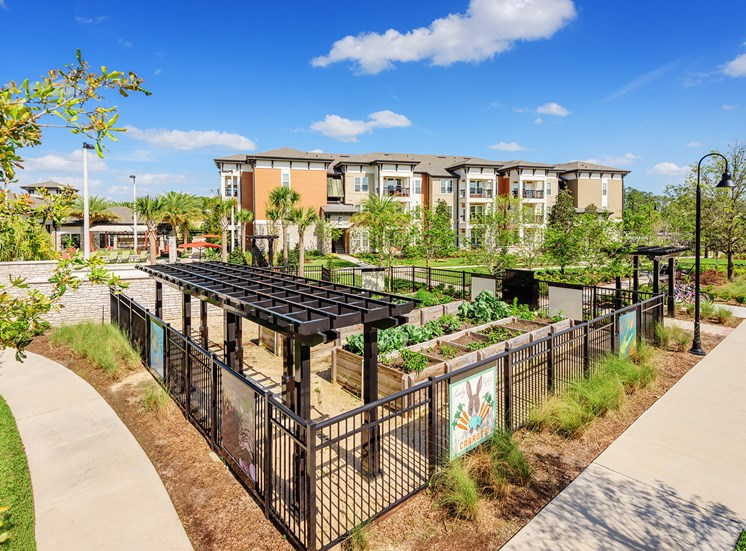 Nona Park Village Apartments - community garden