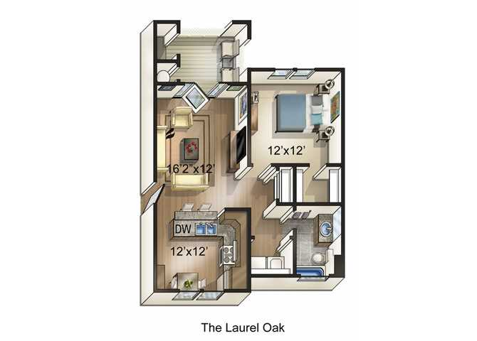 Floor Plans Of The Park At Three Oaks In Wilmington Nc