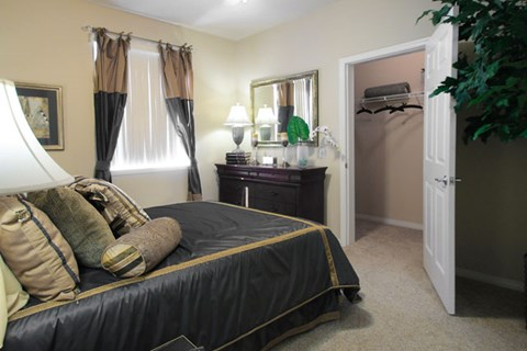 Comfortable Bedroom With Large Closet at Missions at Chino Hills, Chino Hills, California