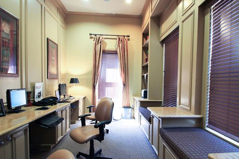 Business Center with High Speed Internet at Missions at Chino Hills, Chino Hills, California