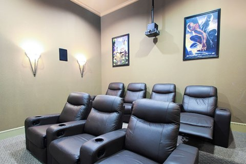 Private Movie Theater With Comfy Sitting at Missions at Chino Hills, Chino Hills, CA, 91709