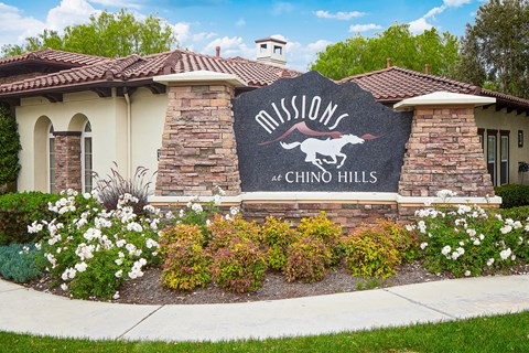 Missions at Chino Hills sign