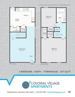 Townhouse Renovated - 817