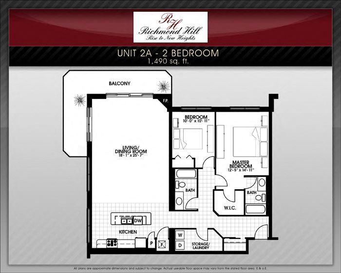 Richmond Hill 2 Bedroom