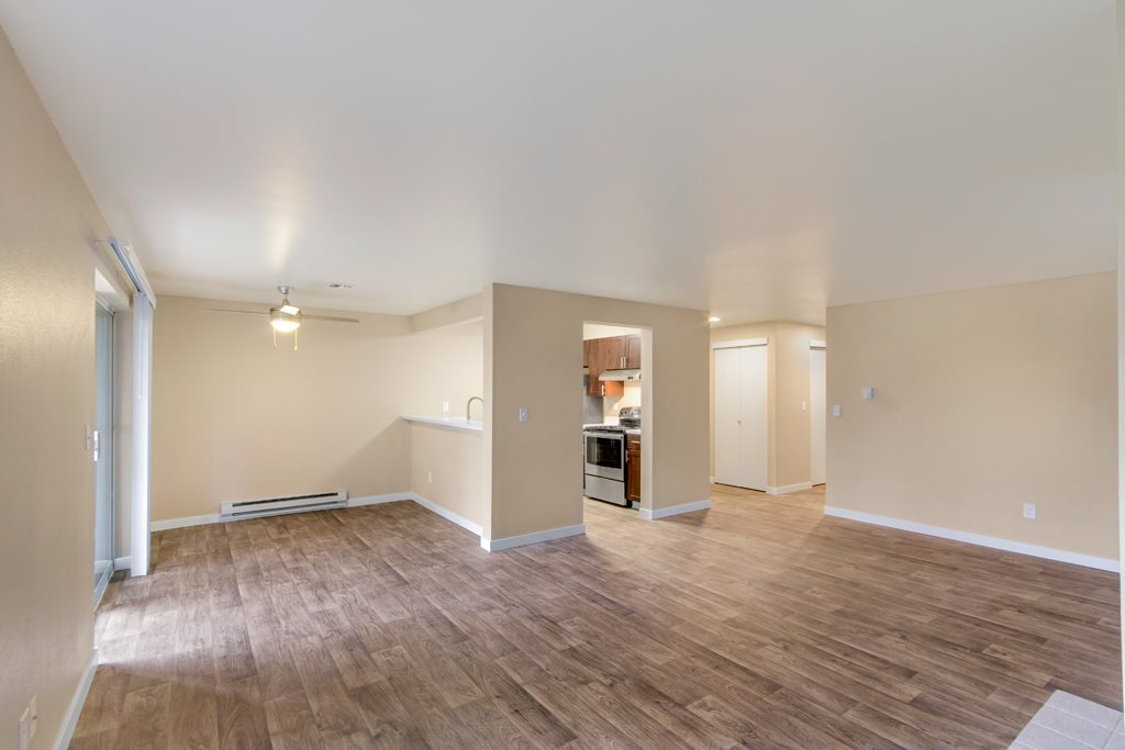 Hardwood Flooring at The Fairways Apartments, Tacoma, WA,98422