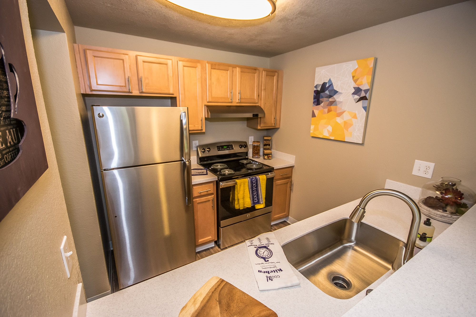 Modern Kitchen at The Fairways Apartments, Tacoma, WA,98422