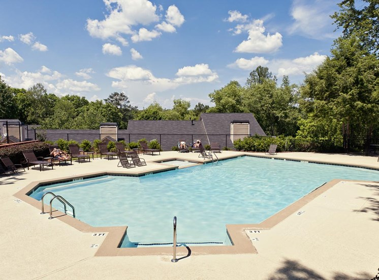Two beautiful pools at Walton at Columns Drive, Marietta, 30067