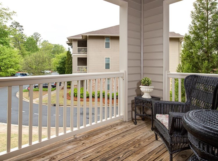 Walton Village Model Balcony
