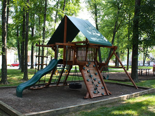 Playground at Hunter's Creek Apartments in Blue Ash, OH