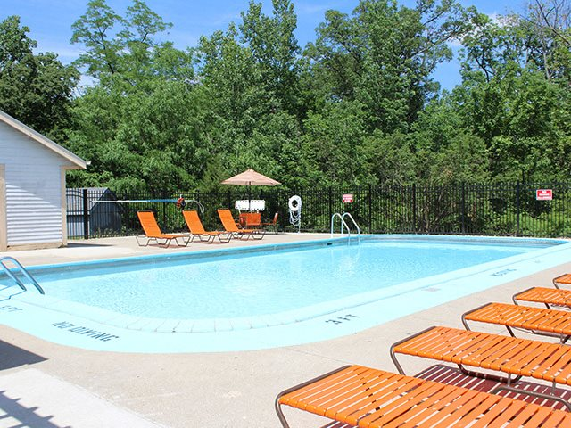 Swimming Pool at Crown Woodhills in West Carrollton, OH