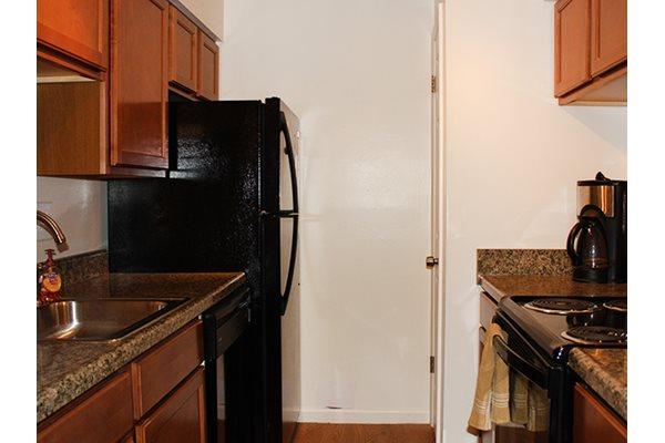 Kitchens at Telegraph Hill Apartments in Cincinnati, OH