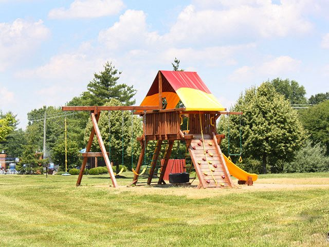 On-site playground for kids at Steeplechase Apartments, Outdoor swings, 45140