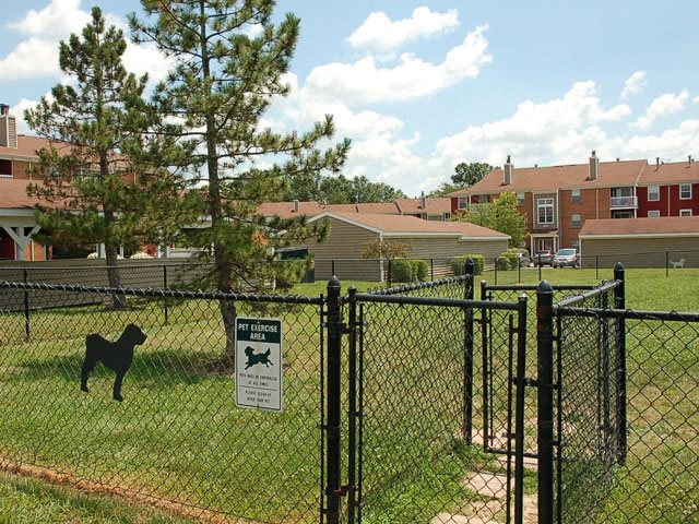 Dog Park at Steeplechase Apartments, Gated Pet Park, 45140
