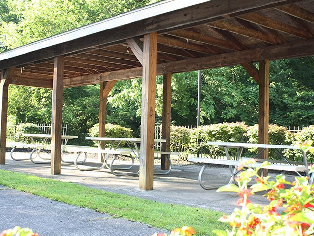 Picnic Area at Timber Ridge Apartments in Cincinnati, OH