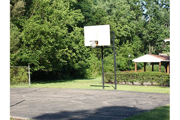 Basketball Court at Timber Ridge Apartments in Cincinnati, OH