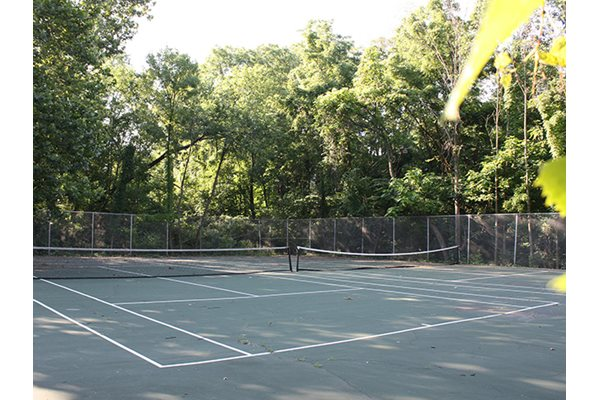 Tennis Court at Timber Ridge Apartments in Cincinnati, OH