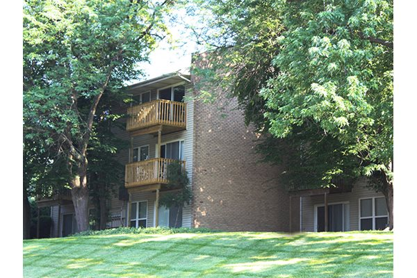 Patios & balconies at Timber Ridge Apartments in Cincinnati, OH