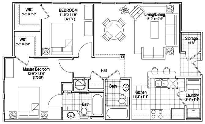 Townhouse Floor Plan 2