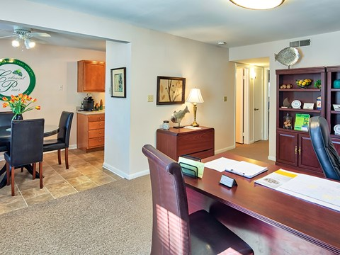 Colonial Pines Apartments in Williamsburg Model