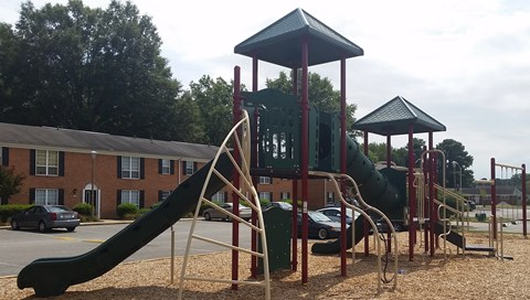Playground at Mariners Green Apartments in Newport News.