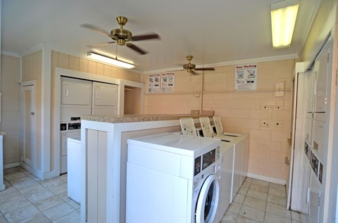 Laundry Center at Mariners Green Apartments in Newport News VA