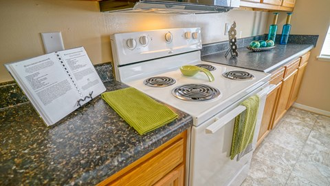 Countertops at the Mariners Green Apartments in Newport News VA